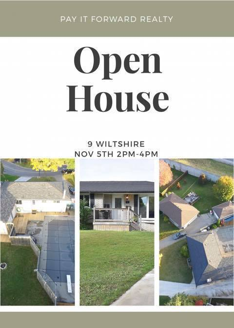 Open House !!! Sunday Nov 05th 2pm-4pm